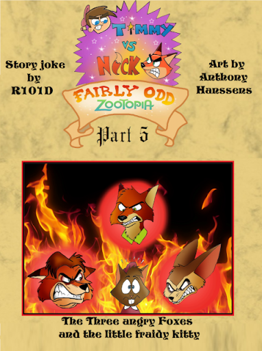 Comic: Fairly Odd Zootopia, Part 5 (by FairyTalesArtist)