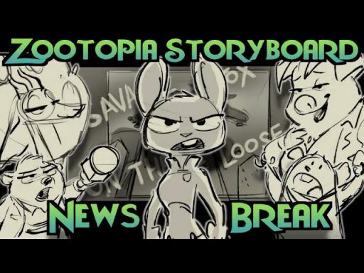 Comic Dub: Zootopia Storyboard – News Break