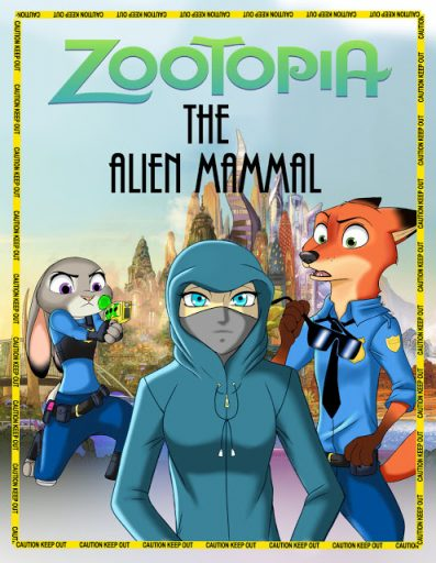 Comic: The Alien Mammal (by marias182)