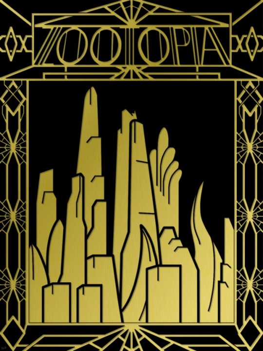Special Art of the Day #263:  Zootopia -The Roaring 20's