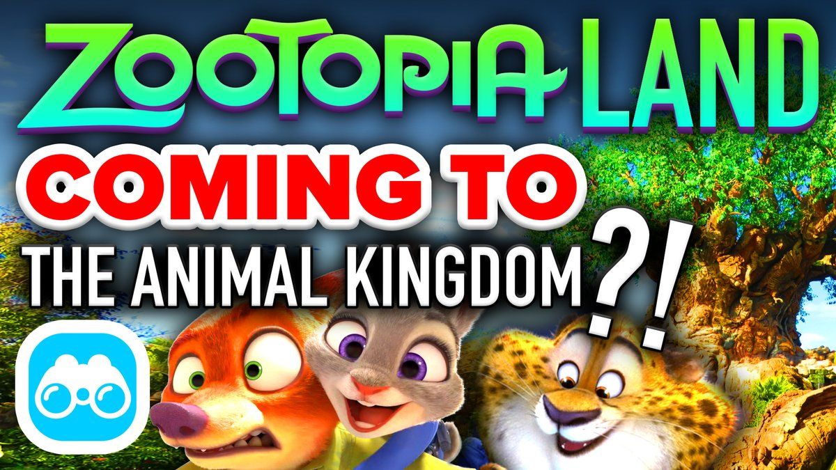 Animal Kingdom 'Zootopia' Land Coming Soon? (by Mickey Views)
