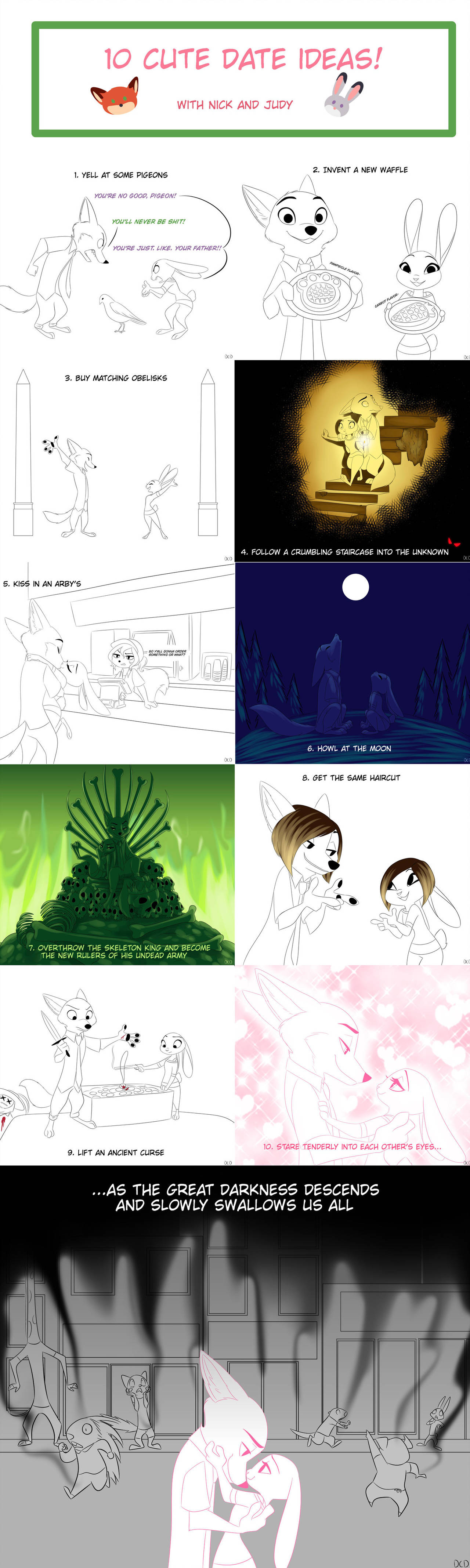 Date Ideas by Skelly-Doll