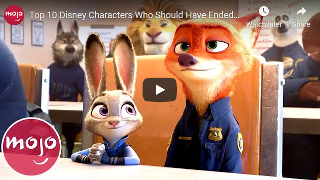 Video: 'Top 10 Disney Characters Who Should Have Ended Up Together' (By MsMojo)