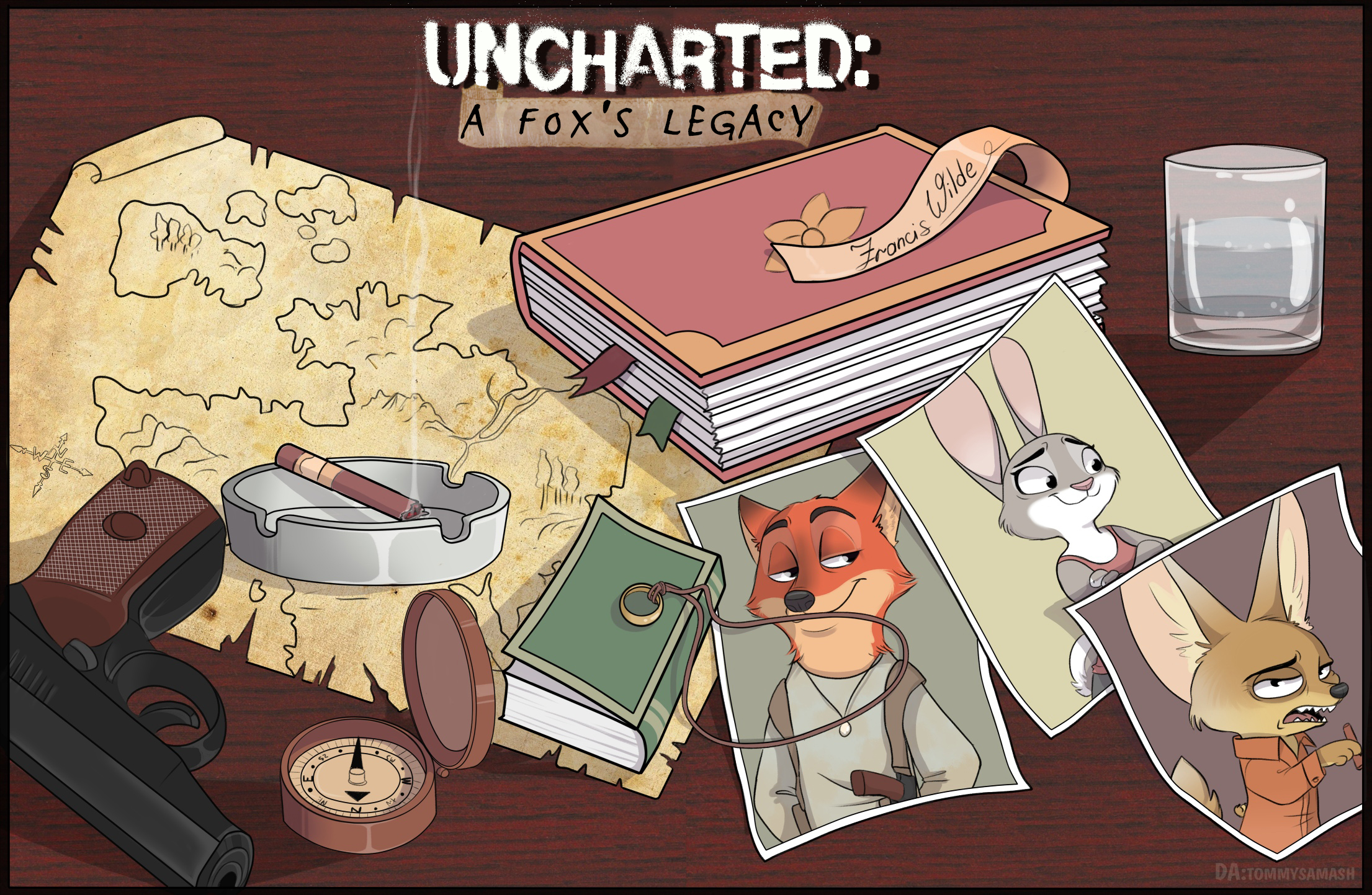 Uncharted A Fox's Legacy